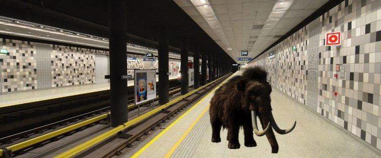 Mamut na stacji!!!